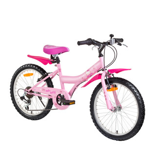 Diev�ensk� bicykel HELLO KITTY Lady 20""