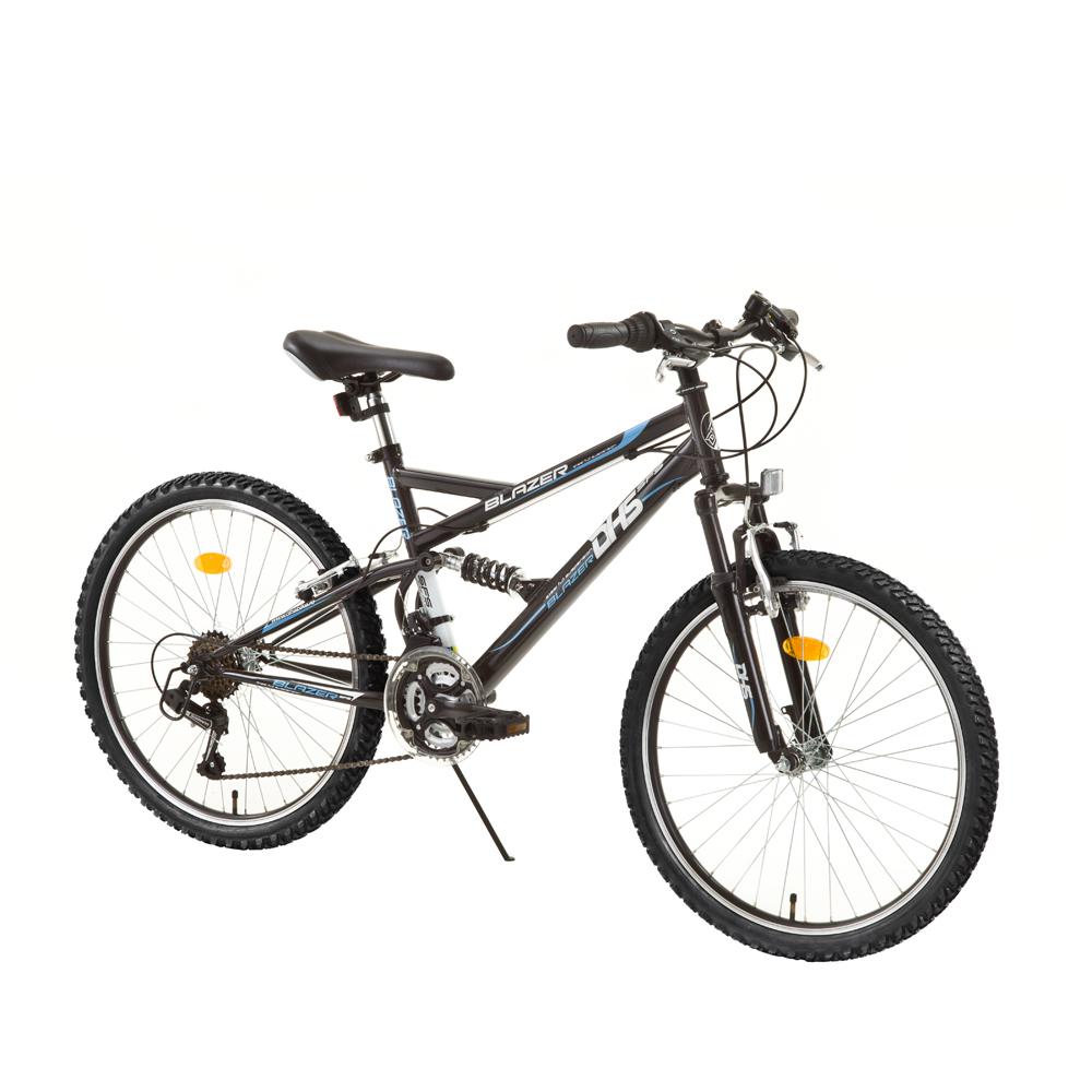 Detský celoodpružený bicykel DHS Blazer 2445 - model 2014
