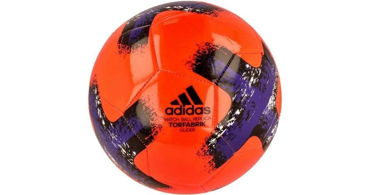 059526de7f49c Futbalová lopta Adidas Bundesliga Torfabrik Glider BS3500  oranžovo-čierno-fialová - inSPORTline