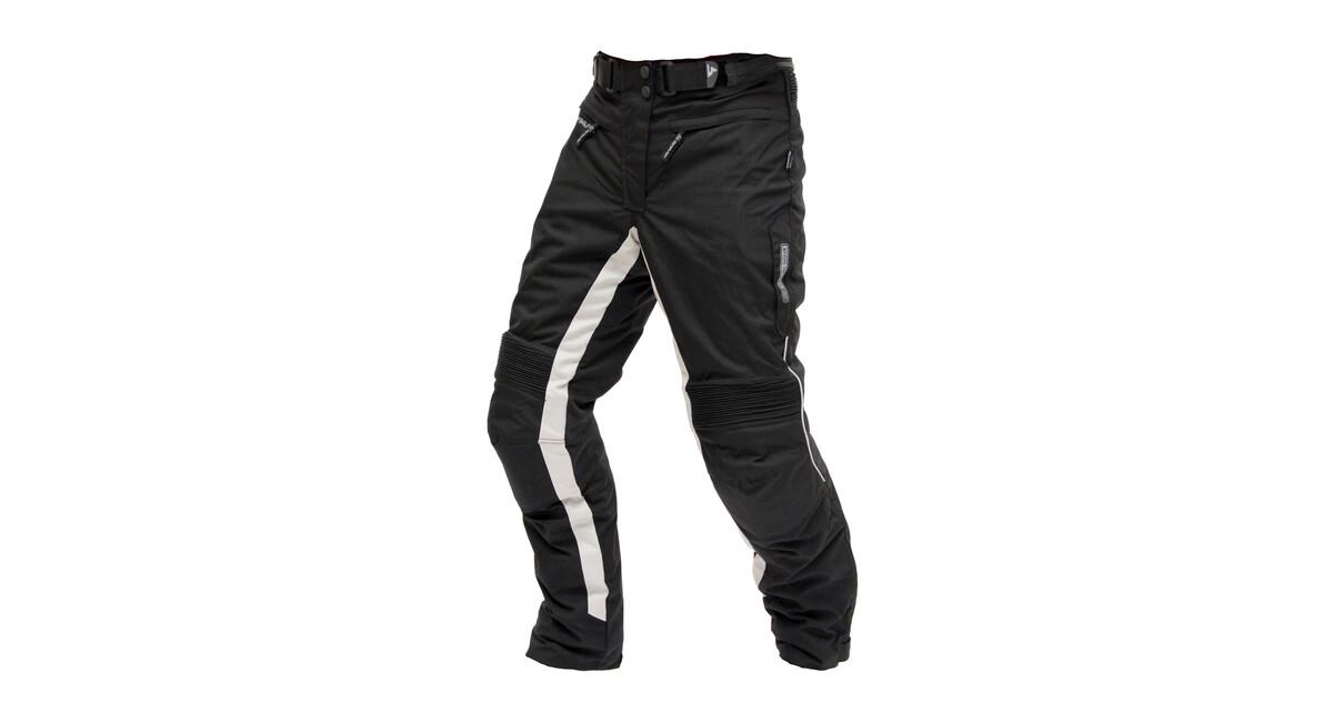 664fd1e28716 Dámske moto nohavice Spark Bora - čierna - inSPORTline