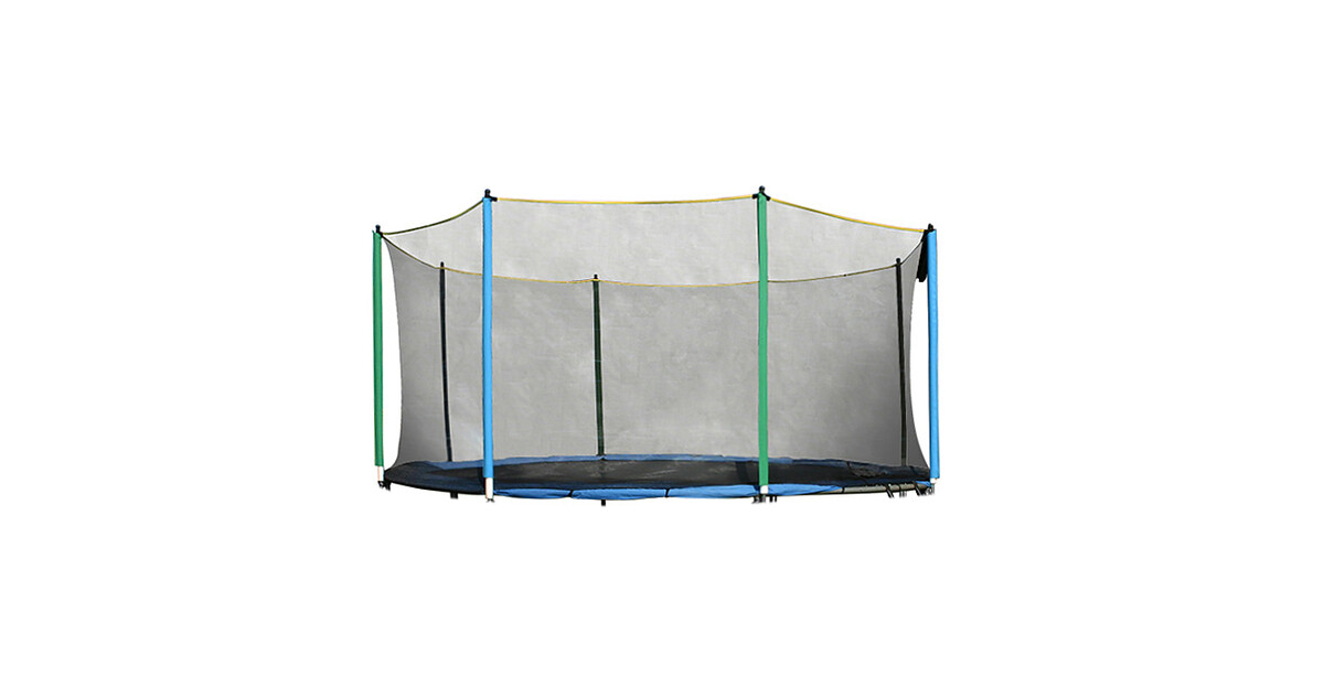 Ochranná sieť na trampolínu inSPORTline 430 cm + 8 tyčí 2d7cbea3f7c