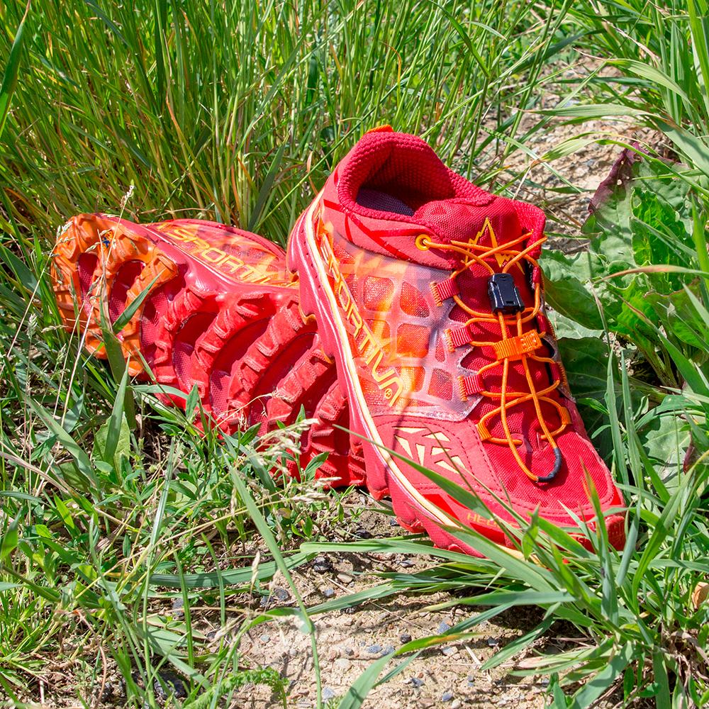 ba27d584f398 Dámske bežecké topánky La Sportiva Helios 2.0 Women - červená. Skvelá opora  ...
