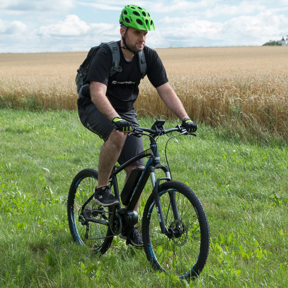 Cyklo rukavice W-TEC Bravoj AMC-1018-15 - zeleno-čierna - inSPORTline 18b2fbd946