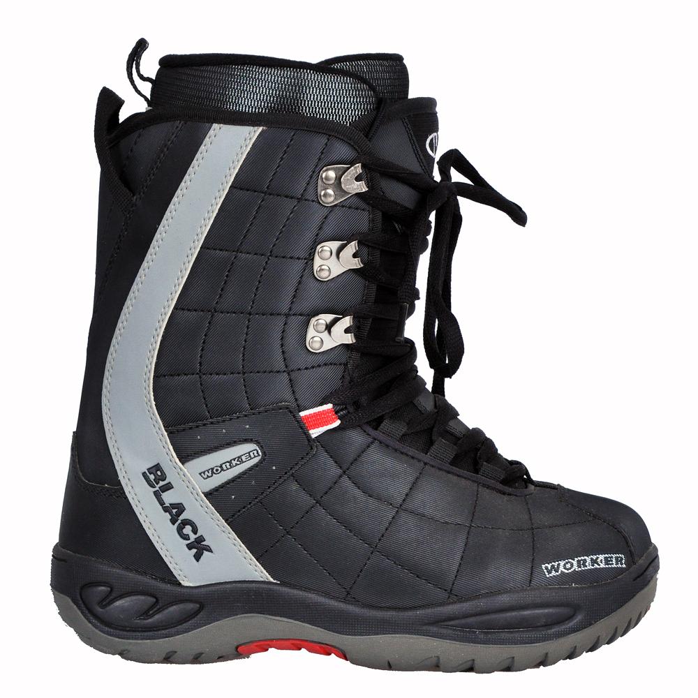586b564b3ae2 Snowboardové topánky WORKER BLACK - inSPORTline