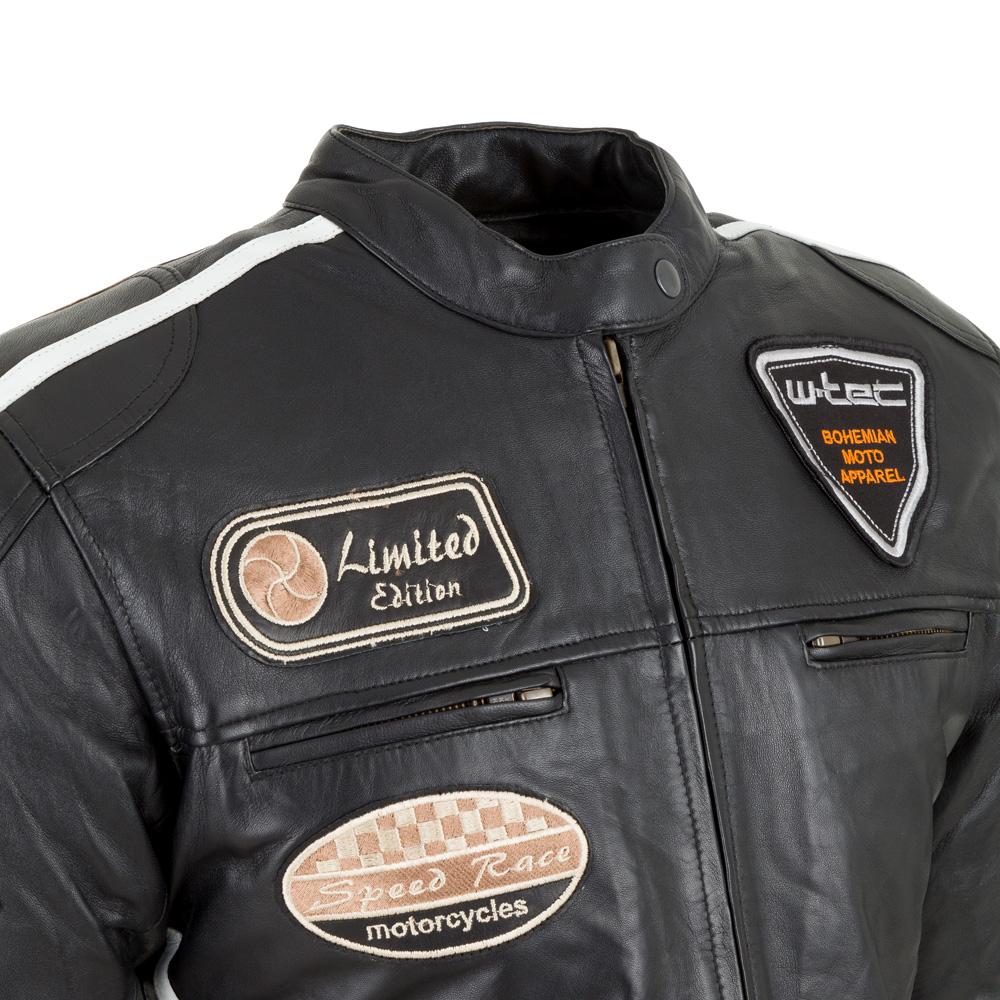 Dámska kožená moto bunda W-TEC Sheawen Lady - čierna. Štýlová ... 43b96524eae