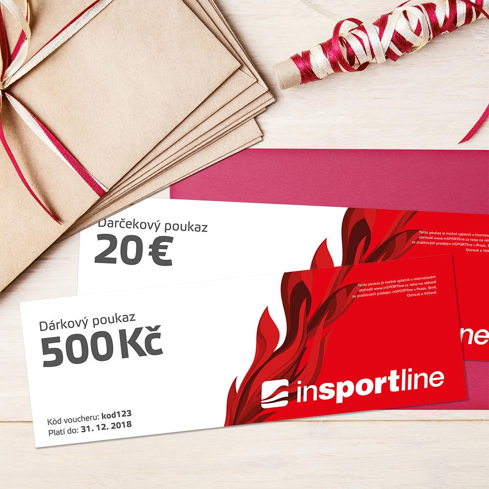 Darčekové kupóny na fitness a športové potreby - inSPORTline f111a37071a