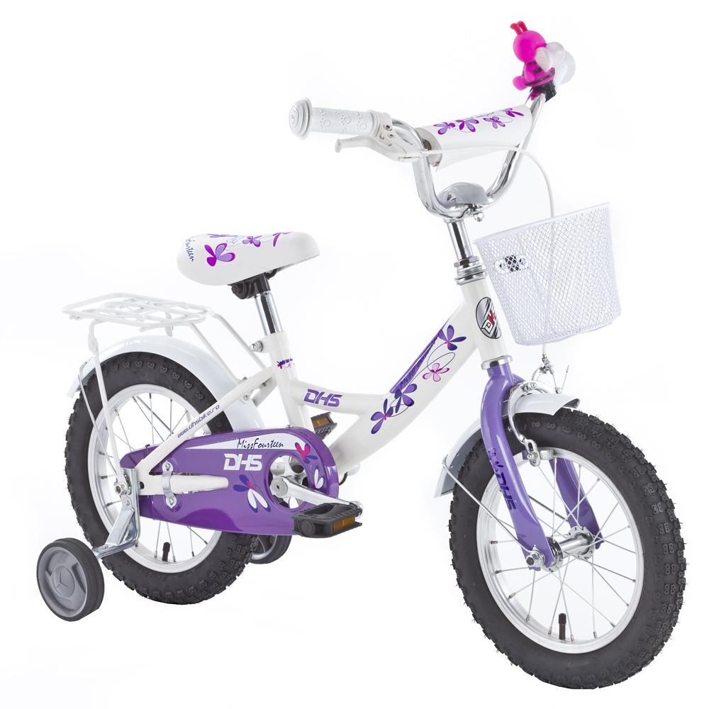 287d49135466c Detský bicykel DHS Miss Sixteen 1602 16