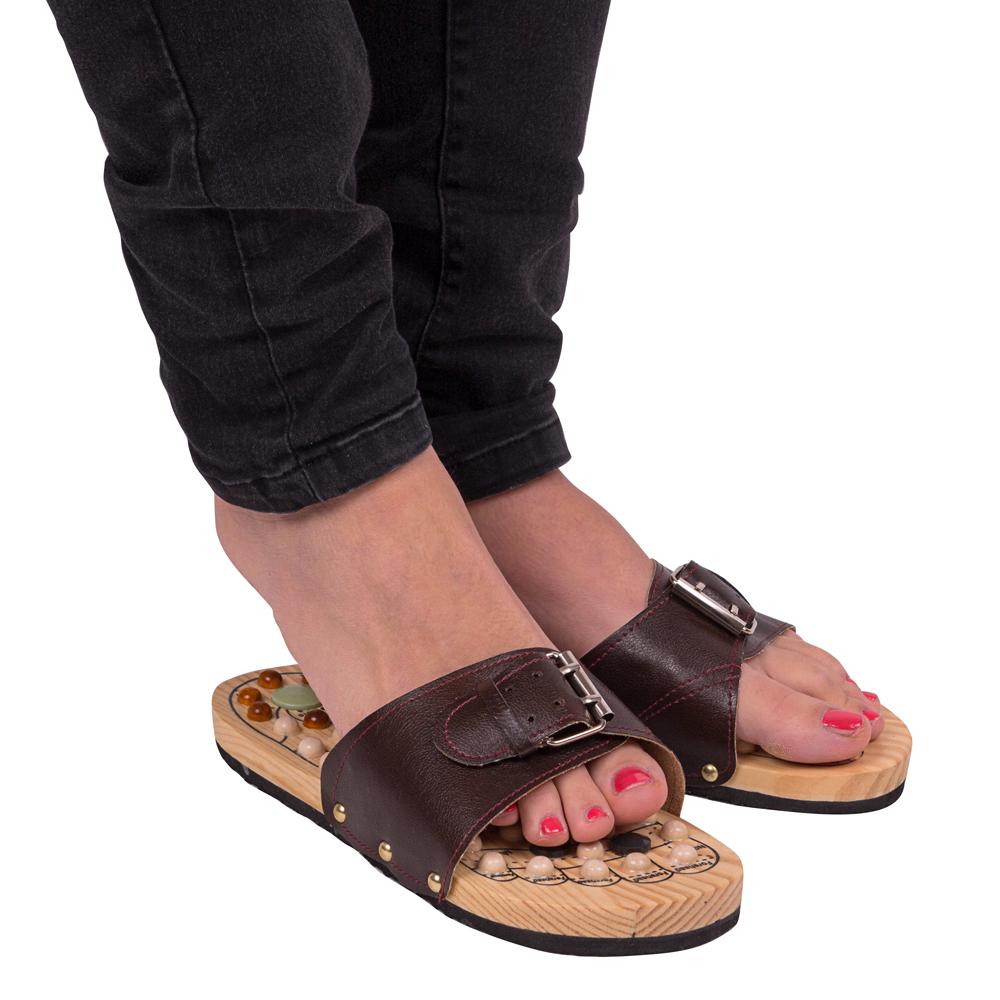 572424fcbf2f Masážne papuče inSPORTline Klabaka s magnetmi - inSPORTline