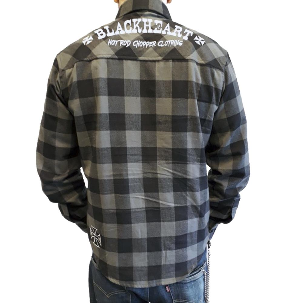 39efeb6ba007 Košeľa dlhý rukáv BLACK HEART Duke - inSPORTline