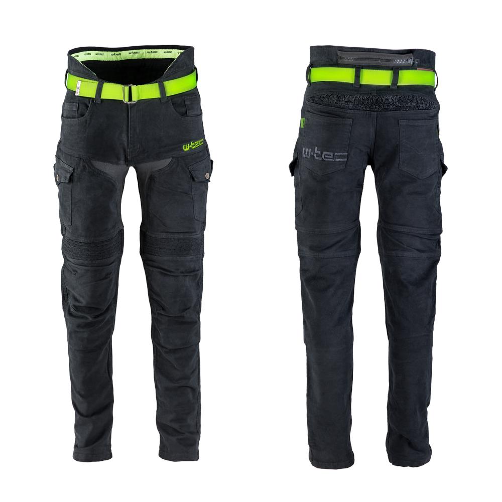 a780fdd943 Pánske moto jeansy W-TEC Aredator - čierna. Vysoký ...