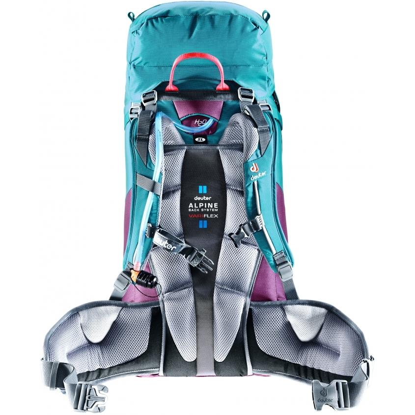 Horolezecký batoh DEUTER Guide 30+SL - maron-arctic. Skrátený ... ac5795f0d24