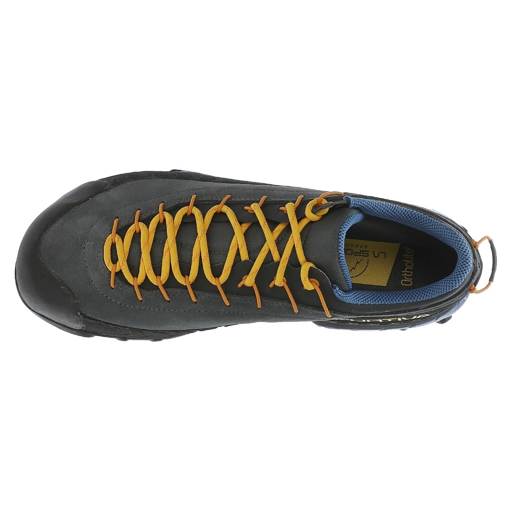 e88d6f740508 Pánske turistické topánky La Sportiva TX4 - Blue Papaya. Kožená ...
