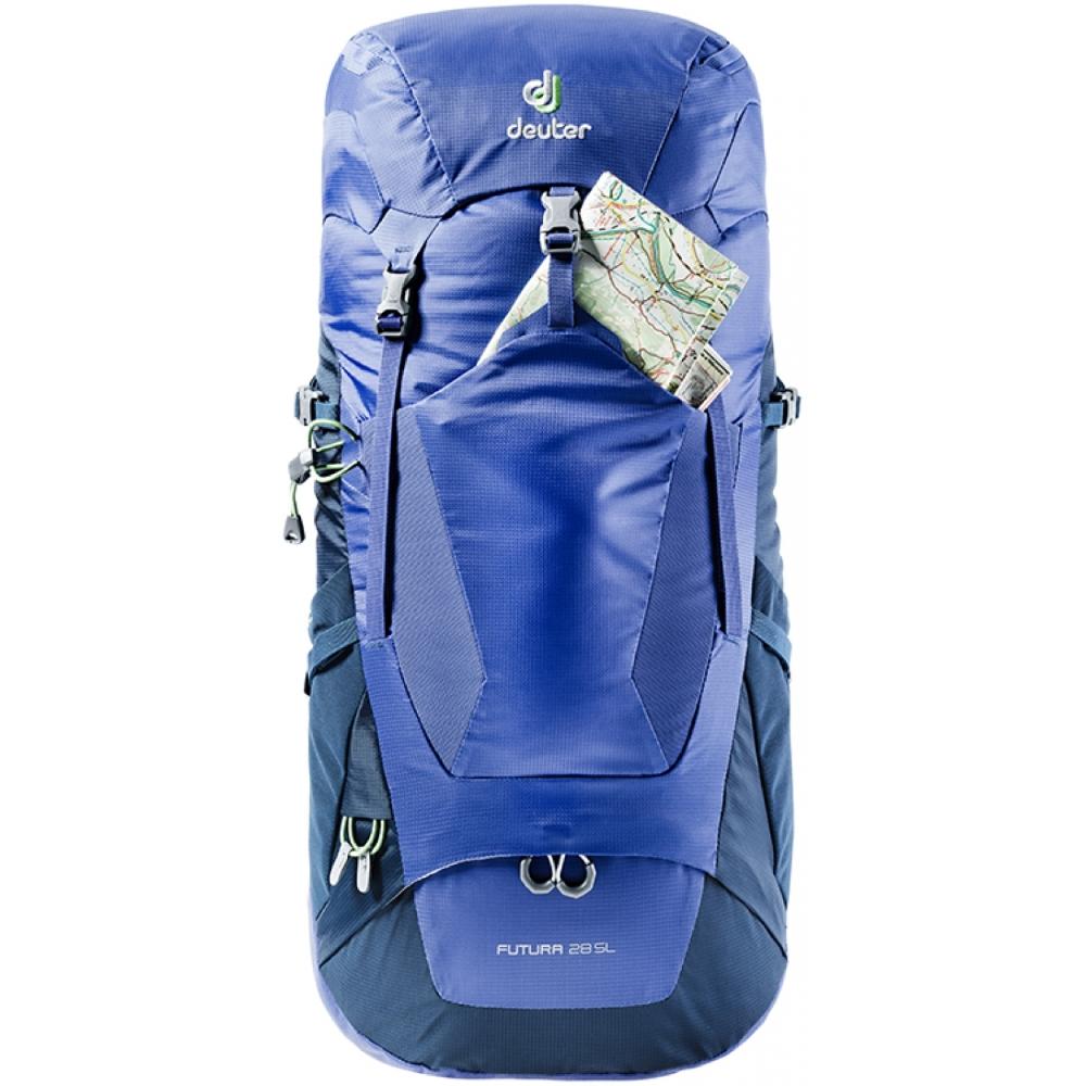 Turistický batoh DEUTER Futura 30 - arctic-denim. Priedušný ... 5bfee7ceca