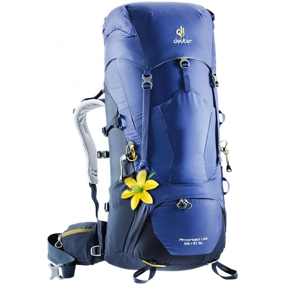 Turistický batoh DEUTER Aircontact Lite 35 + 10 SL - graphite-black.  Nastaviteľná ... 4669c3834f