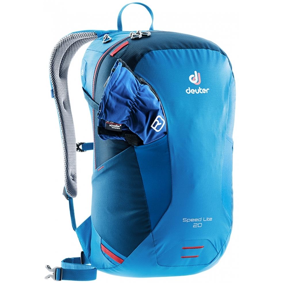 Turistický batoh DEUTER Speed Lite 20 2019 - cranberry-maron. Ľahký ... 8d8bdf7d18