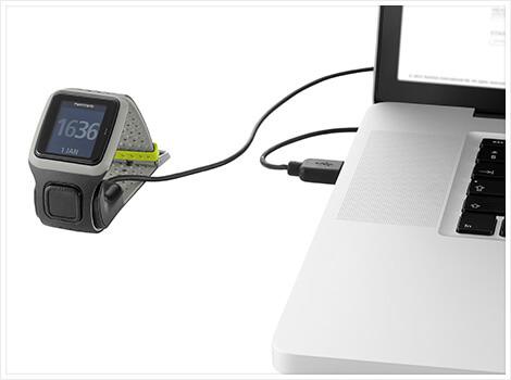 303bf96e1 GPS hodinky TomTom Runner šedé - inSPORTline