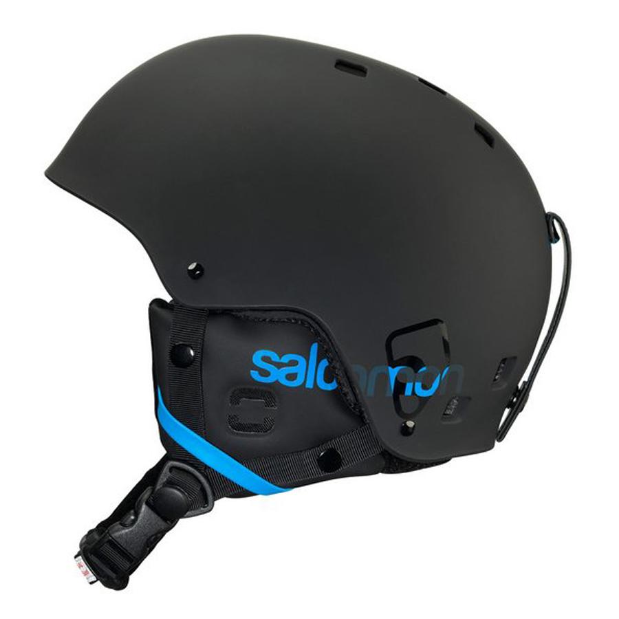 51179825f Lyžiarska prilba SALOMON Brigade - White Matt. Freestyle helma ...