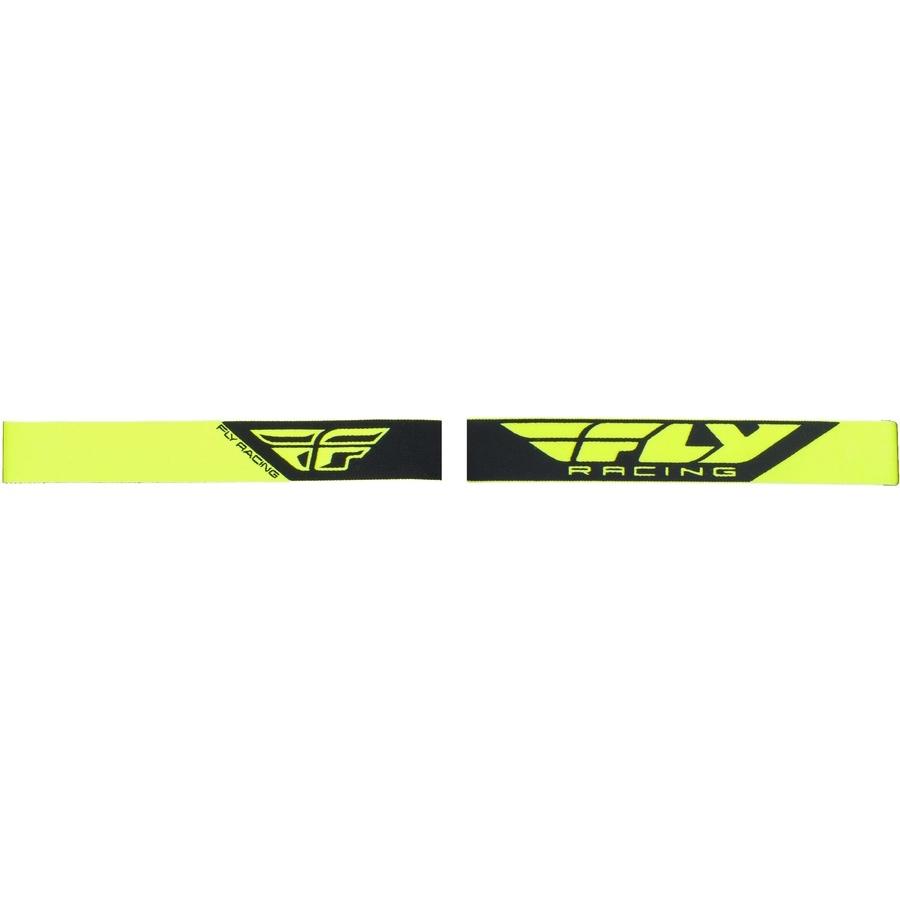 daefa3fd1 Motokrosové okuliare Fly Racing Focus 2019 - biele, číre plexi bez pinov.  Číre polykarbonátové ...