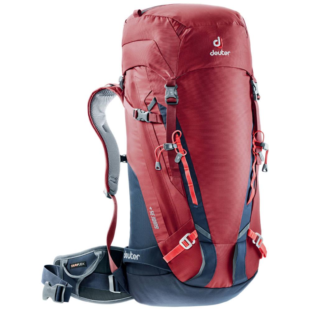 5c37c39ff6f Horolezecký batoh DEUTER Guide 35+ - červená. Chrbtový ...