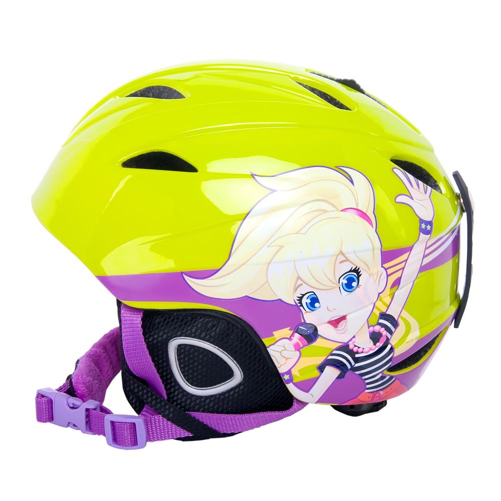 Detska lyžiarska prilba Vision One Polly Pocket - inSPORTline 23a3a485d32