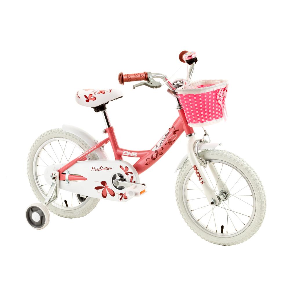48773cf8ed455 Detský bicykel DHS Miss Sixteen 1602 16