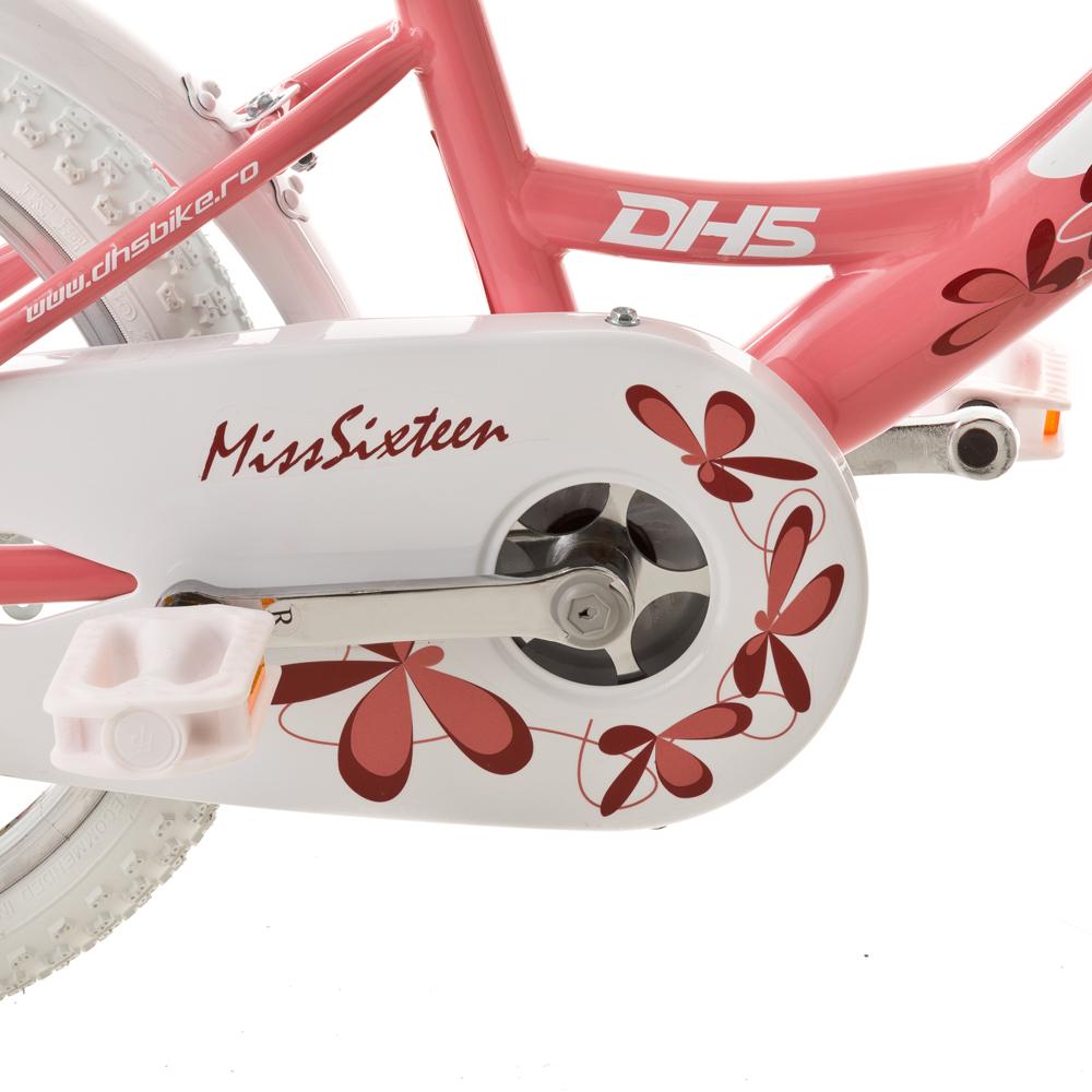 c1116395c7f99 Detský bicykel DHS Miss Sixteen 1602 16