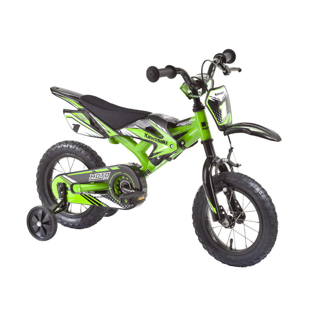 "Detský bicykel KAWASAKI Moto 12"""