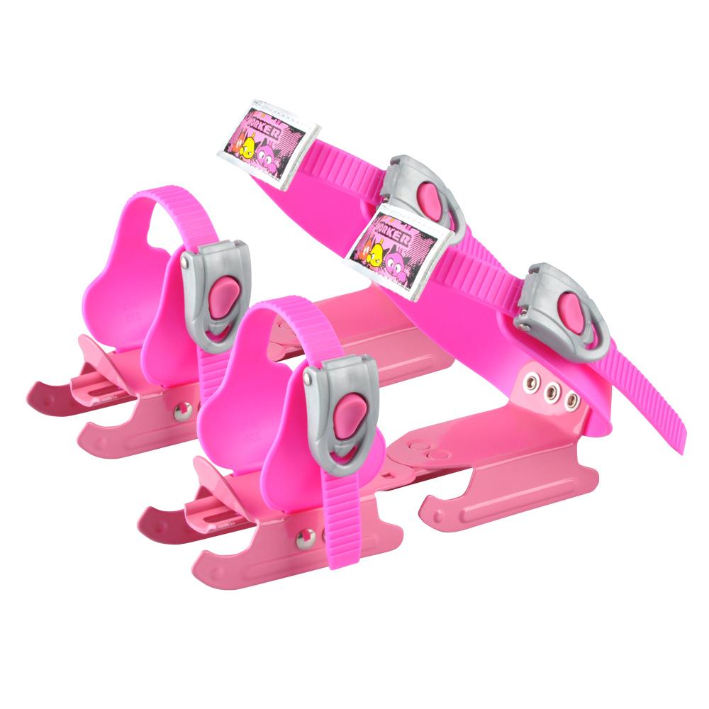 Detské korčule WORKER Duckss Pink