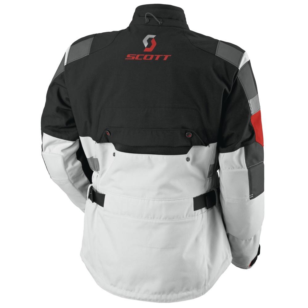 Moto bunda SCOTT All Terrain Pro DP - šedo-červená. Ventilácia ... a80447ec62f