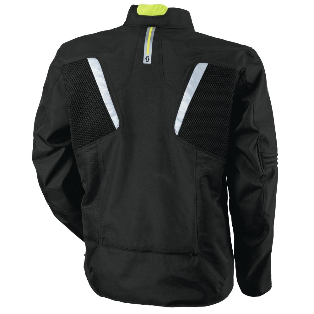 Moto bunda Scott Summer VTD DP - čierna. Elastanovej vklady ... ad27bc3ed11