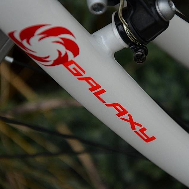 Juniorský dievčenský bicykel Galaxy Ruby 24