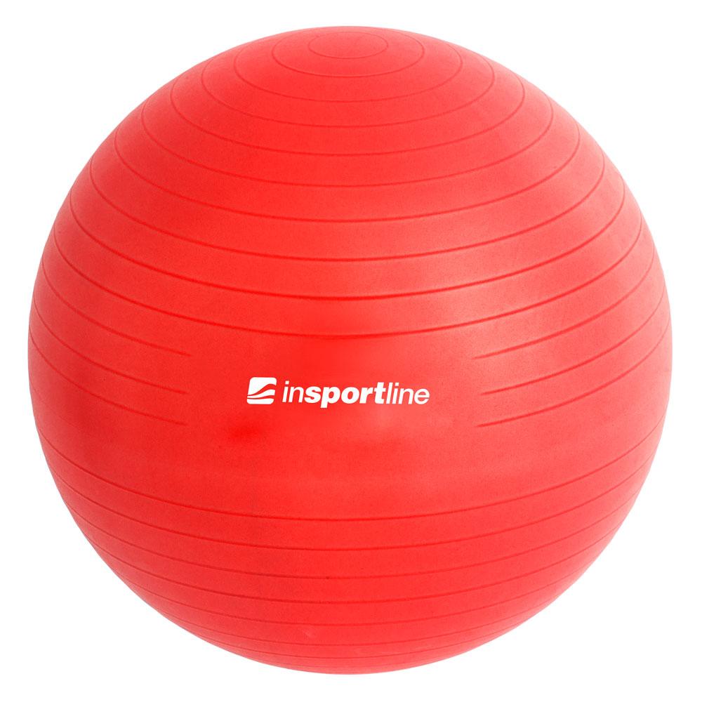 Gymnastická lopta inSPORTline Top Ball 65 cm červená