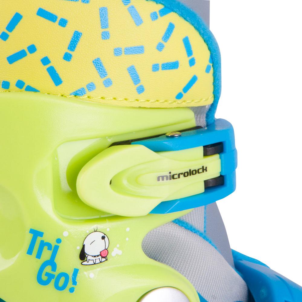 1c67cfbc8 Detské kolieskové korčule WORKER TriGo Skate - modrá. Praktické  nastaviteľné ...