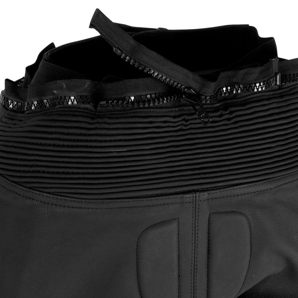 7bcb67dba94d Pánske kožené moto nohavice W-TEC Vector - čierno-modrá. Kožené nohavice ...