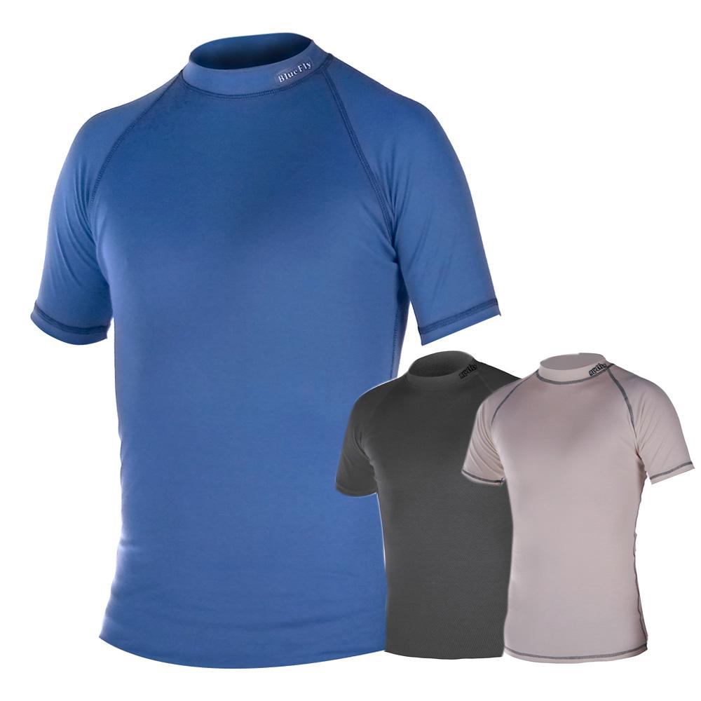 ac3ebb82a Termo tričko krátky rukáv Blue Fly Termo Pro - šedá - inSPORTline