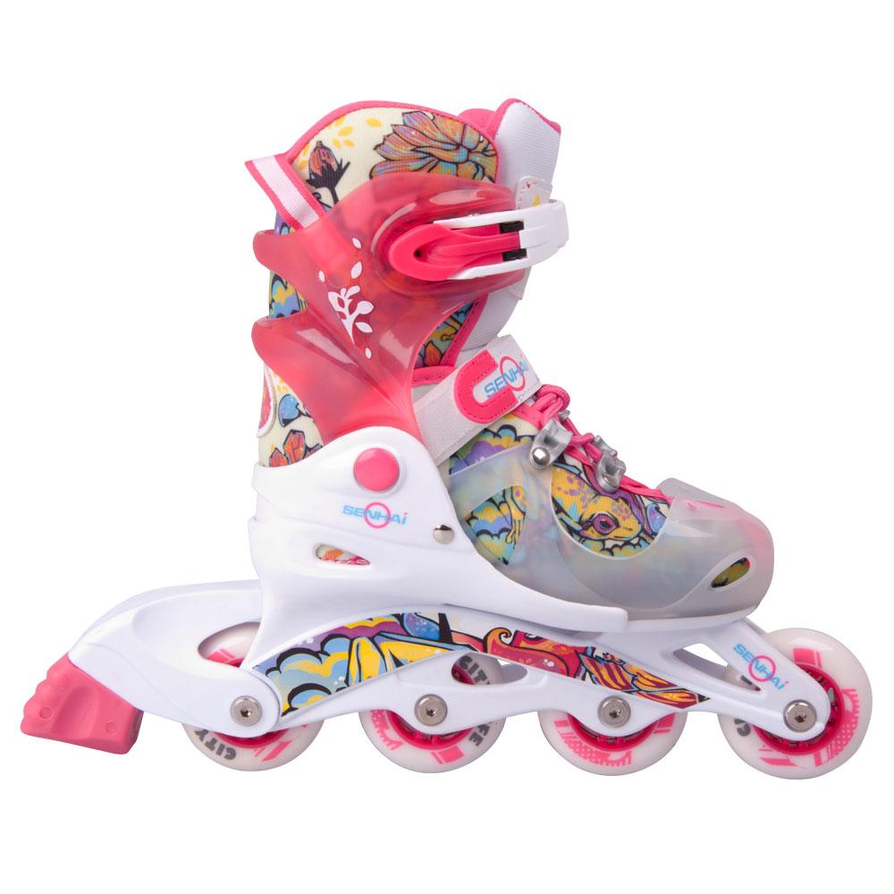 2083a285f Detské kolieskové korčule WORKER 116AF - inSPORTline