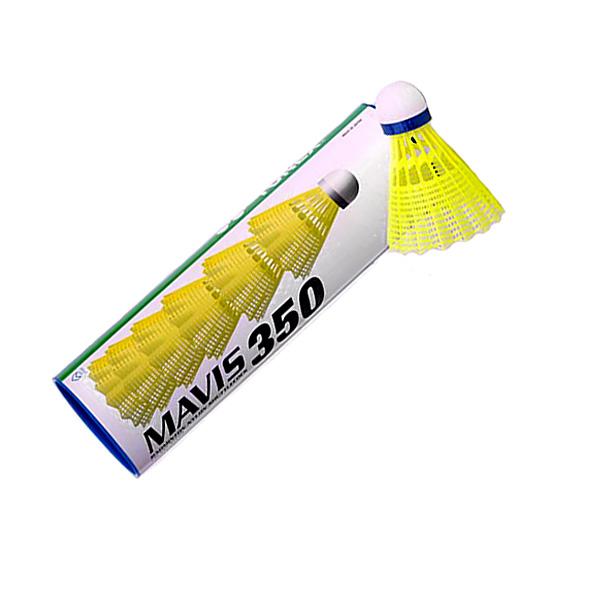 d99dae022 Plastové košíčky Yonex Mavis 350 - biela loptička - zelený pruh. Plastové  badmintonové ...