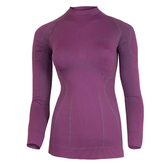 964010f50b2f Dámske termo tričko Brubeck THERMO s dlhým rukávom - fialová ...