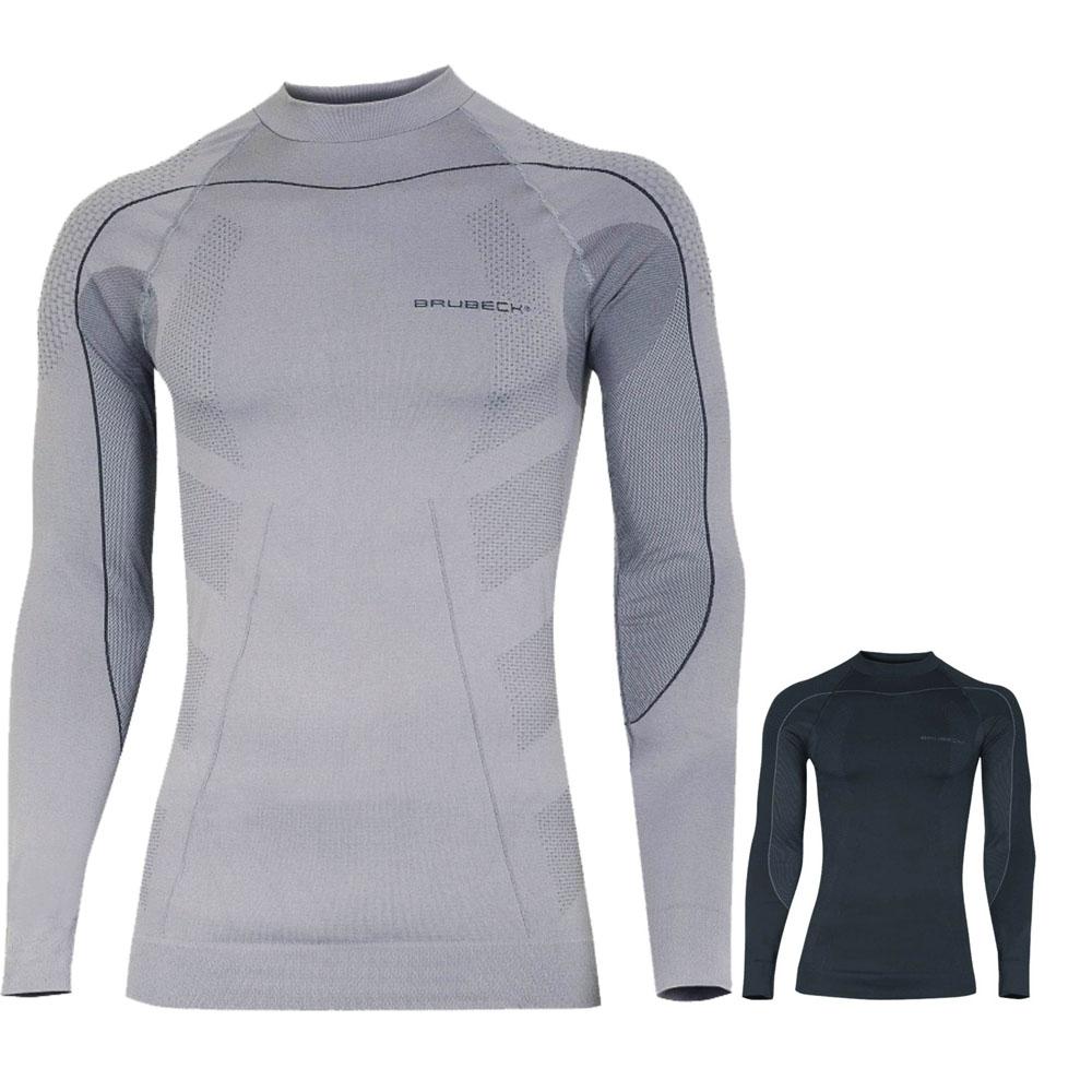 f5d069ba431e Pánske thermo tričko Brubeck THERMO s dlhým rukávom - inSPORTline