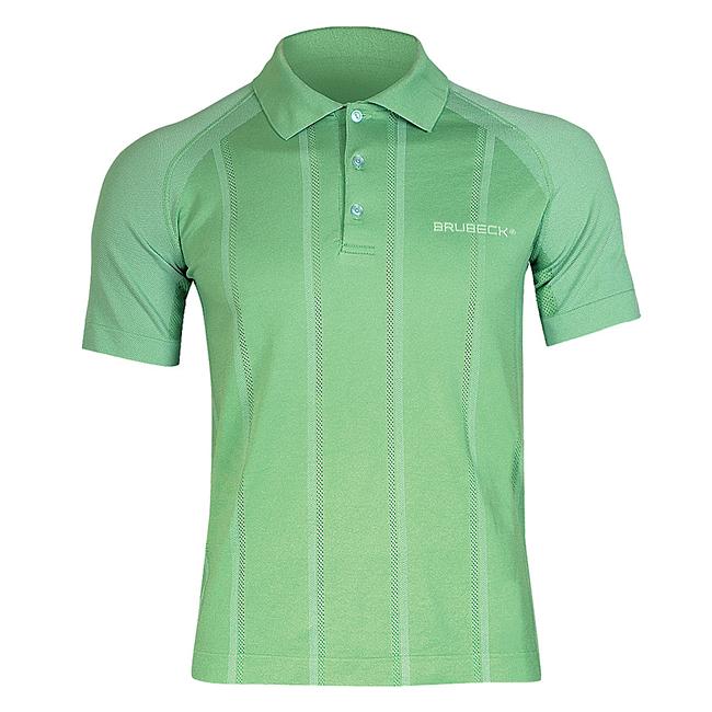 d7af25799 Pánske thermo tričko Brubeck PRESTIGE s limcom - zelená - inSPORTline