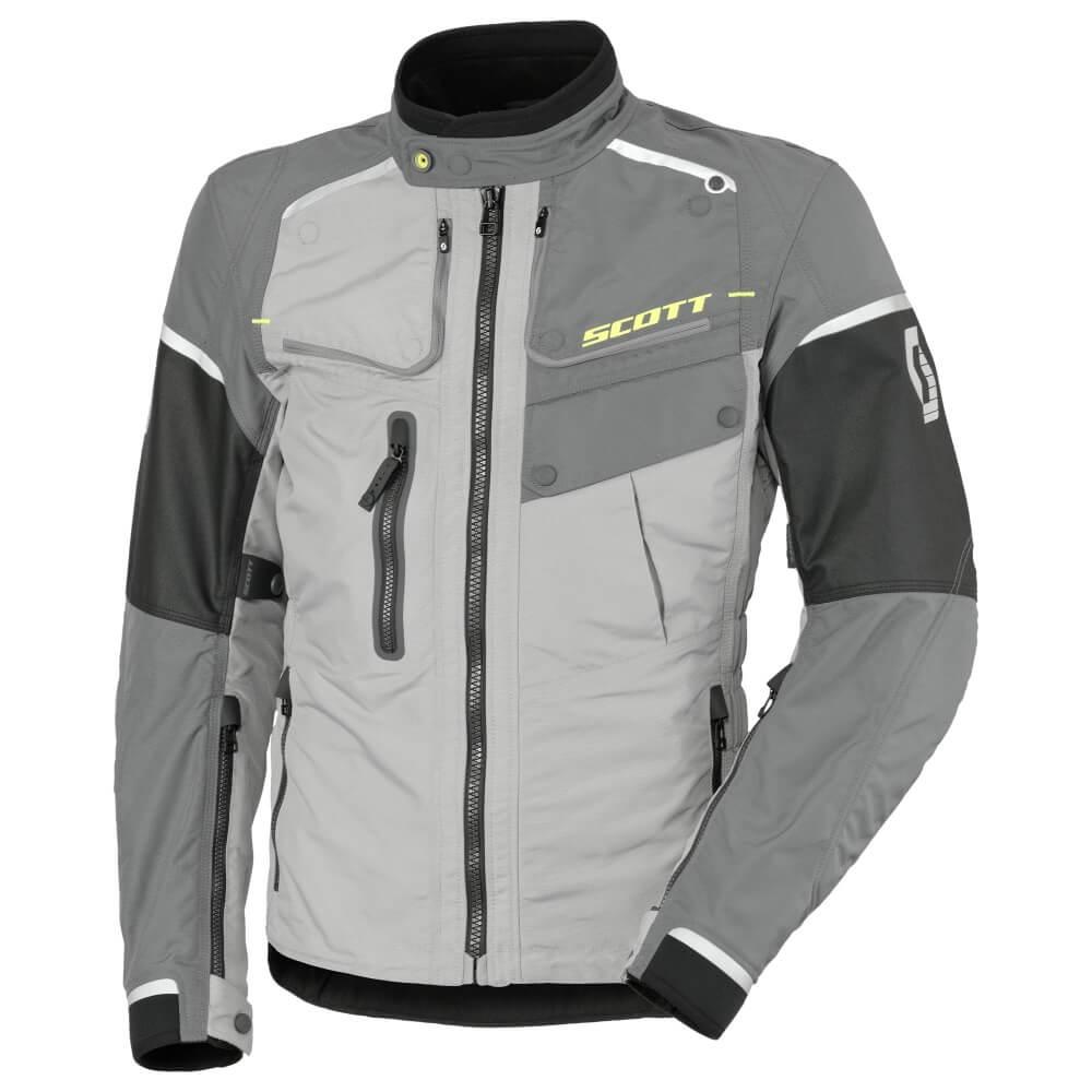 Moto bunda SCOTT Concept VTD - svetlo šedá-čierna - inSPORTline 19fa4a7ea47