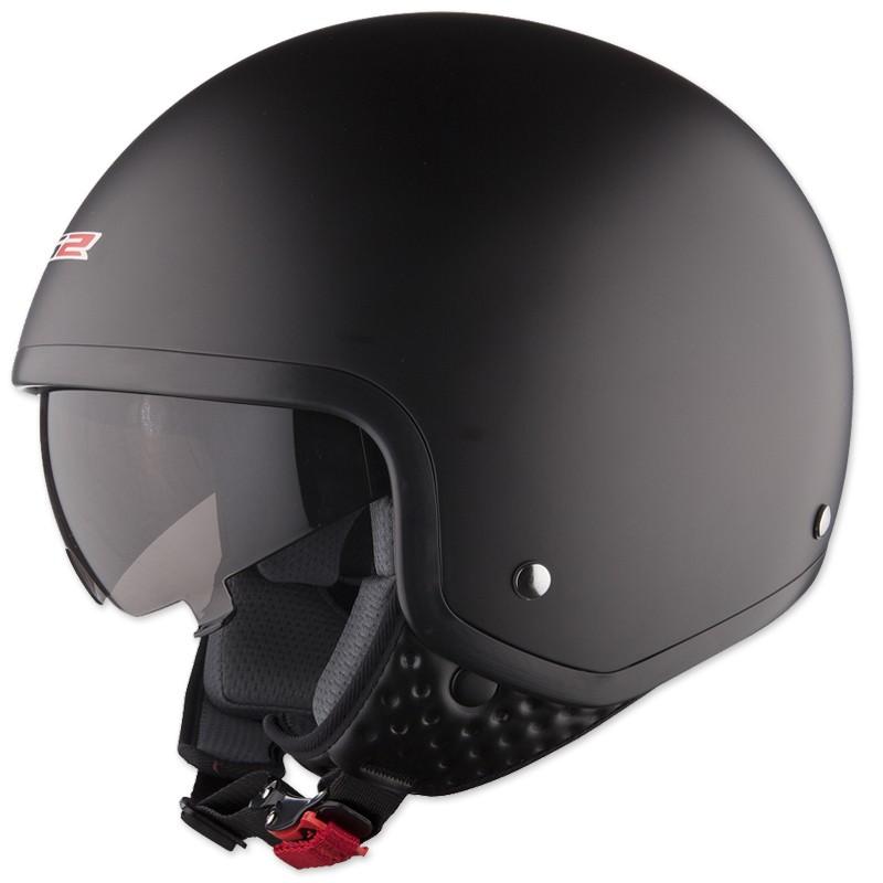 Moto prilba LS2 OF561 Wave Mat - matne čierna 7cbcf2a218