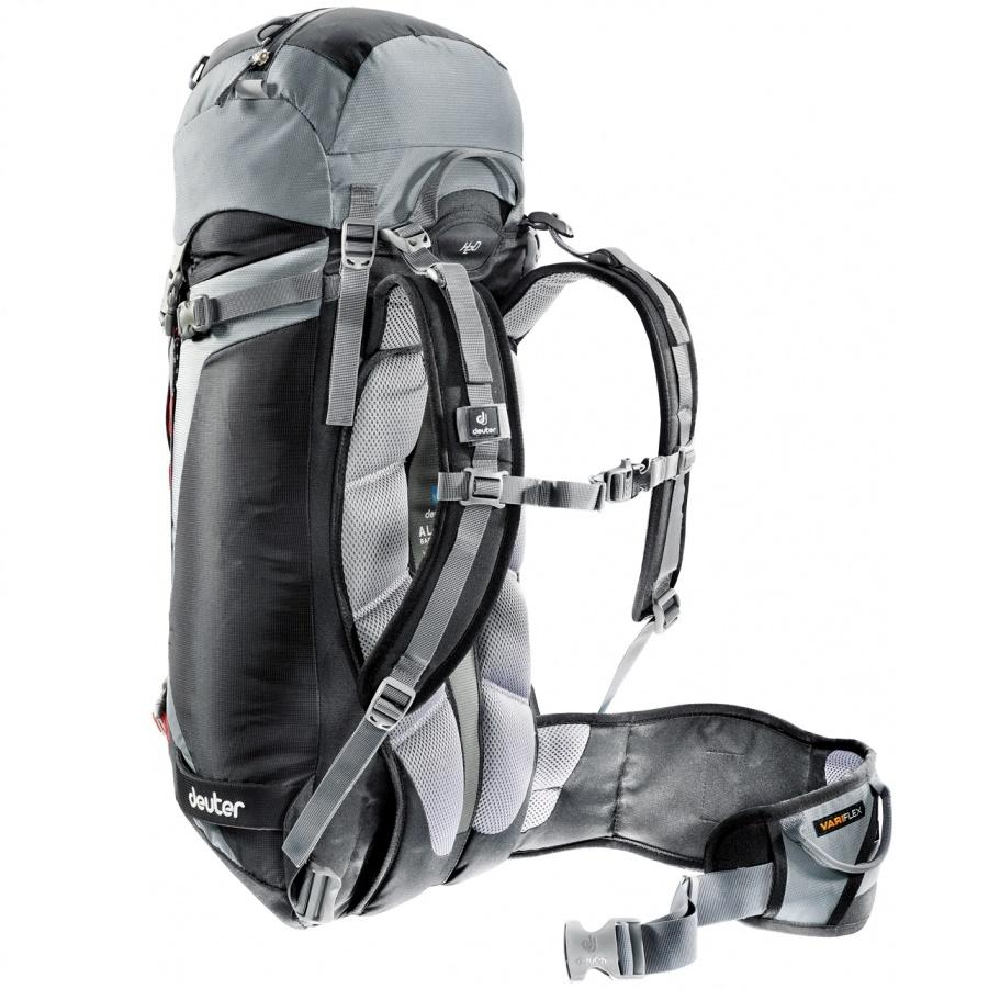 c7a36c0f963 Horolezecký batoh DEUTER Guide 35+ 2016 - čierno-šedá. Chrbtový ...