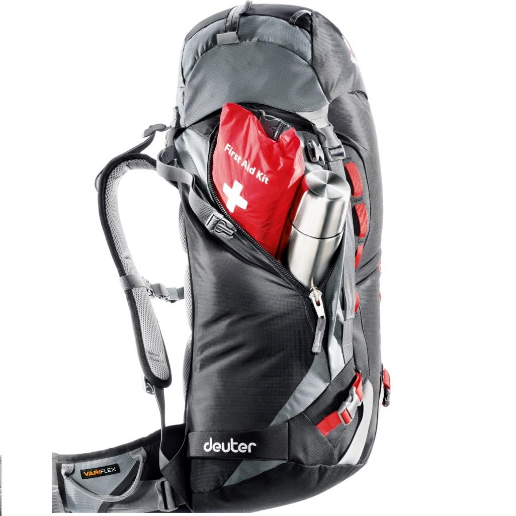 9c4fcd5c701 Horolezecký batoh DEUTER Guide 35+ 2016 - modro-červená. Chrbtový ...