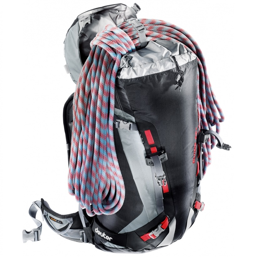 Horolezecký batoh DEUTER Guide 35+ 2016 - modro-červená. Chrbtový ... 1e9f5fbdd4d