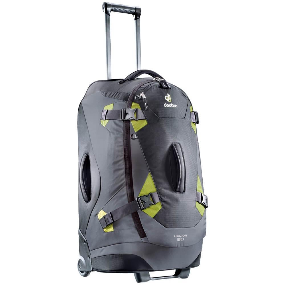 a50b86b76c1fc Cestovná taška DEUTER Helion 80 - čierno-zelená
