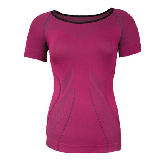 Dámske termo tričko Brubeck FIT s krátkym rukávom - inSPORTline b4cae906582