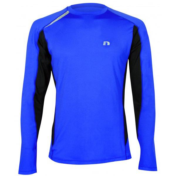 aaede9e9b443 Pánske športové tričko s dlhým rukávom Newline Vent Stretch Tee ...
