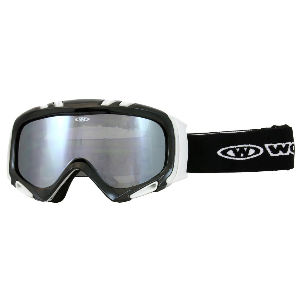 07600b731 Lyžiarske okuliare WORKER Cooper - biely grafit. Lyžiarske ...