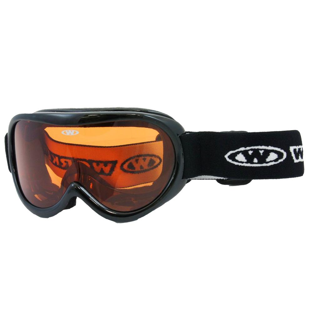 Detské lyžiarske okuliare WORKER Miller - WHT-biela. Lyžiarske ... a62d34520c5